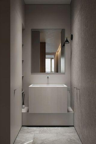 124平极简公寓卫生间装修效果图