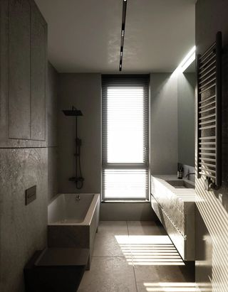 轻工业风公寓卫生间装修效果图
