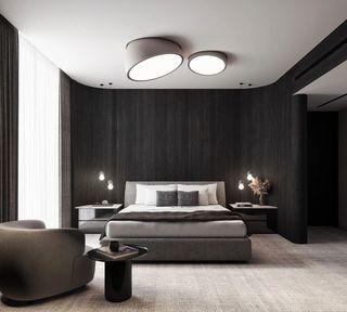 现代极简风卧室装修效果图