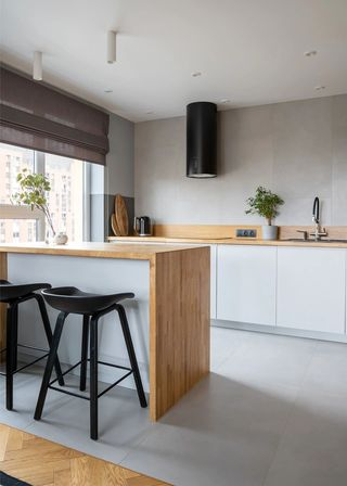 80平米公寓厨房装修效果图