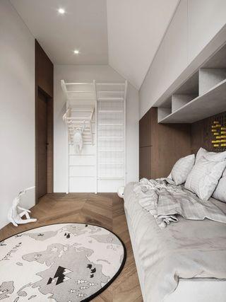 120m²现代风儿童房每日首存送20