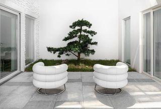 極簡風格別墅庭院裝修效果圖