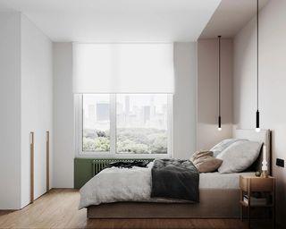 30㎡小户型公寓卧室装修效果图