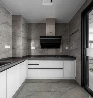 150㎡現代風廚房裝修效果圖