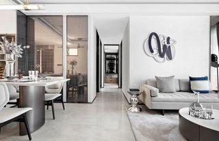 简约现代三居室过道装修效果图