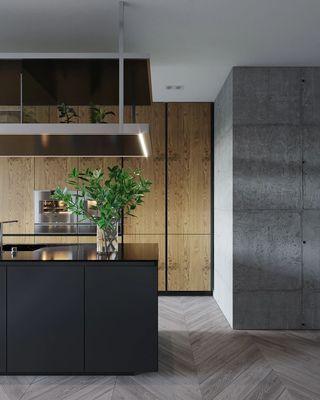 現代風兩居室廚房裝修效果圖